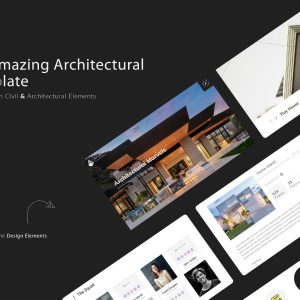 Archile - Website UI kit OR Website Template